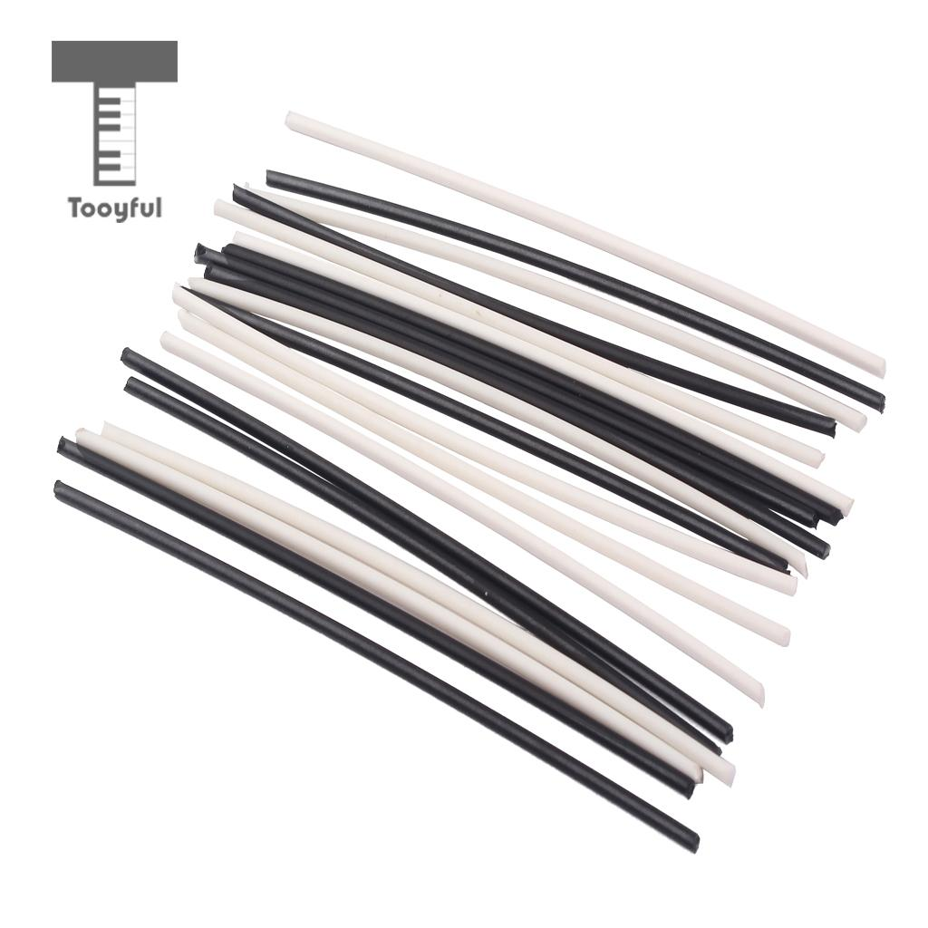 20 Pieces Abs Plastic Guitar Side Dot Position Markers 2mm
