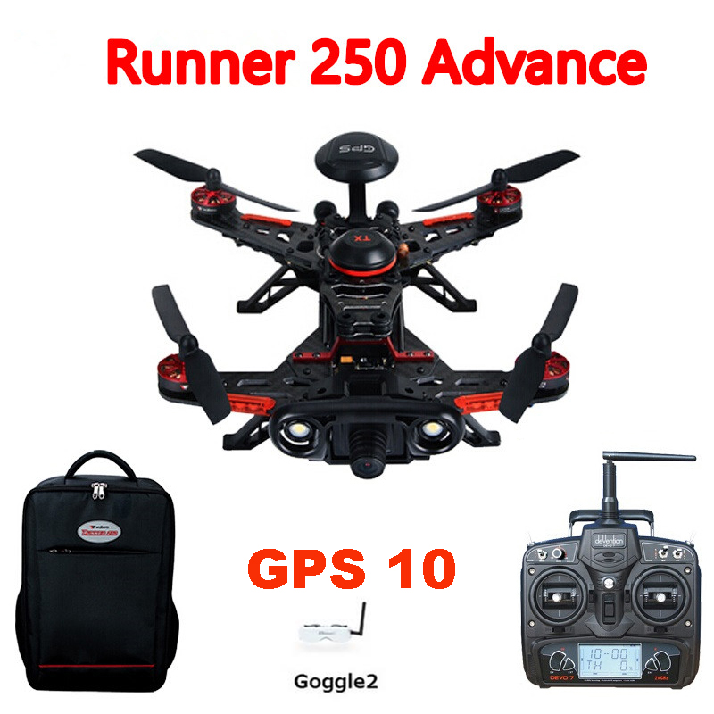 Walkera Runner 250 GPS System font b RC b font Drone Quadcopter with DEVO 7 OSD