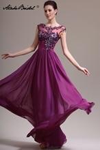 Formal Women's Dress Elegant O Neck Cap Sleeve Chiffon Mother of the Bride Dresses vestido mae da noiva vanessa mae vanessa mae the best of colour