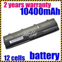 JIGU batería de 12 celdas para HP pavilion dm4 dv3 dv5 dv6 dv7 g4 g6 g7 para Compaq Presario G42 G62 CQ42 CQ32 mu06 HSTNN-UB0W