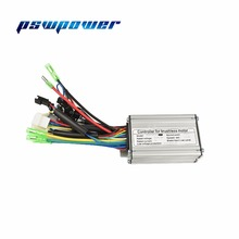 24V/36V 250W 15A  Brushless DC Sine Wave ebike Electric Bicycle Hub Motor Controller with right output