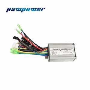 Image 1 - 24V/36V 250W 15A  Brushless DC Sine Wave ebike Electric Bicycle Hub Motor Controller with right output