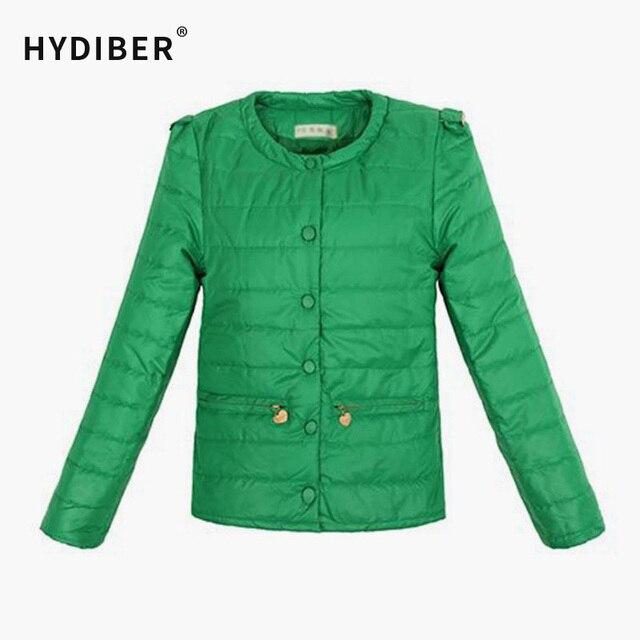 Women Coat Fashion Candy Color Overcoat Winter Coat Parka Slim Short Jacket Women Outerwear Casual Padded