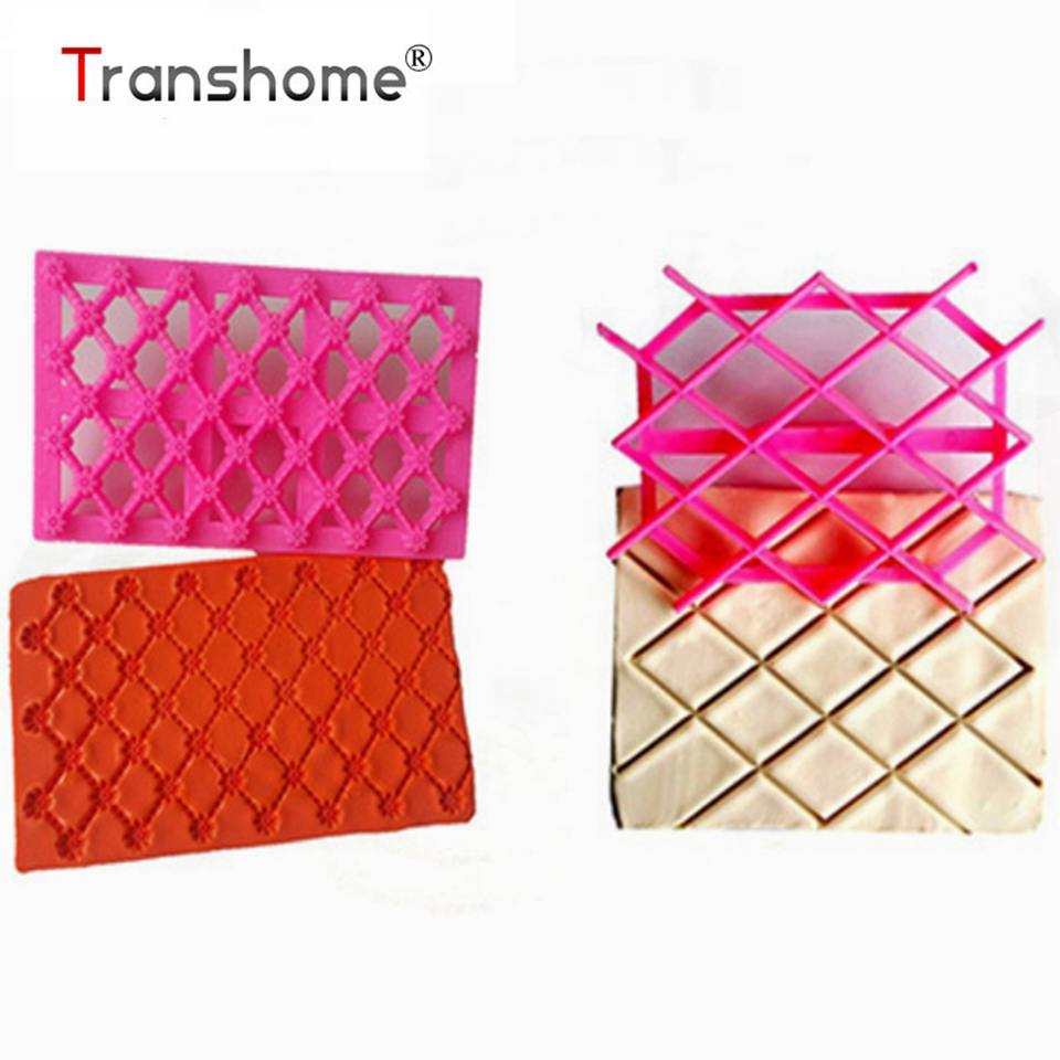 Transhome Gingerbread Cookie Cutters Fondant Cake Square