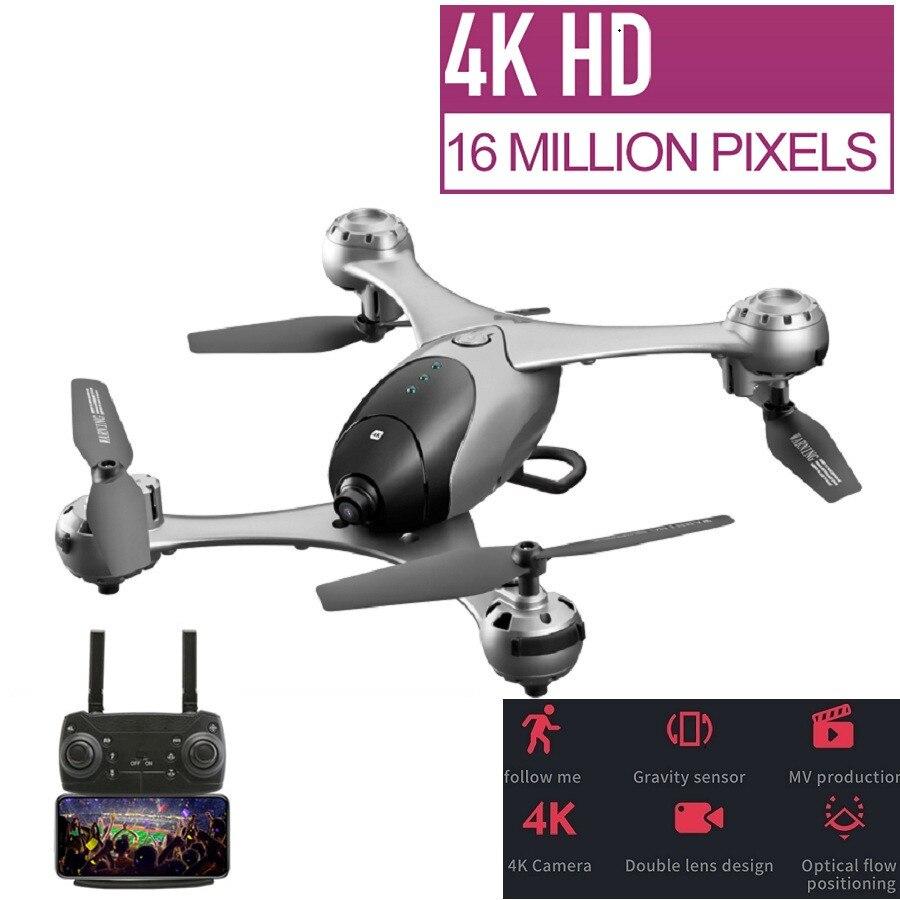Meilleur Drone 4 K/1080 P RC Drone double caméra Drone WIFI FPV quadrirotor télécommandé Drones suivez-moi Mode de suivi