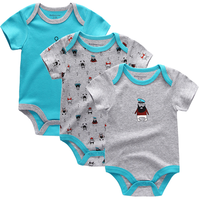 ab69432018575 US $7.48 11% OFF|2019 Sale Winter clothes Fantasia Infantil Baby Girl  Family Sayings Short Sleeve Romper ,baby Clothing Wild Boy 0 3,3 6months-in  ...