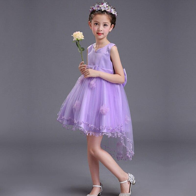 Vestido de la muchacha nuevo arco princesa vestido de niñas niña ...