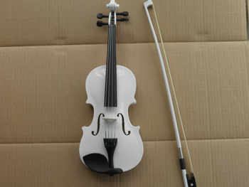 chilren learning white violin 1/8 1/4 1/2 3/4 4/4 full set with case and bow - DISCOUNT ITEM  8% OFF Sports & Entertainment