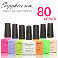 1 PCS Hot Sapphire Nail Gel Fashion 80 Colors Nail Gel Polish Long-lasting UV Gel Polish