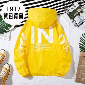 ZQLZ Women Windbreaker Jacket Women Fashion Print Letter Hooded Jacket Basic Jackets Plus Size 5xl Coats Female 9