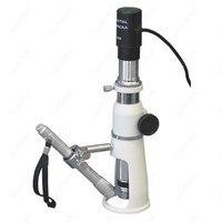 Portable Shop Measuring Microscope AmScope Supplies 100X Portable Shop Measuring Microscope + USB Camera