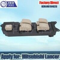 Factory Direct Auto Car Elétrica Interruptor Da Janela de Poder Aplicar Para Mitsubishi Lancer Pajero LHD Motorista Side MR194826
