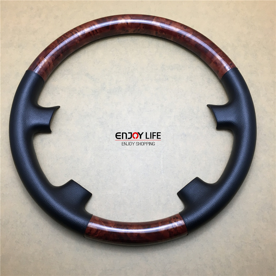 Online color wheel games - 1pc Abs Wood Color Car Steering Wheel Cover Trim For Toyota Sienna 2004 To Pre