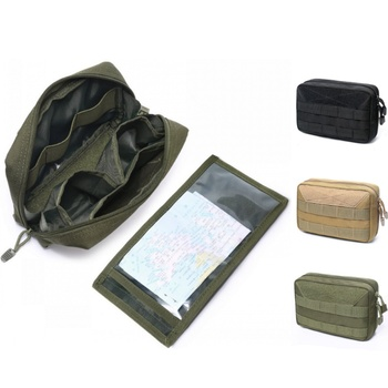 CQC Military Mini Tactical Molle Admin Pouch Utility EDC Medical Pouches Outdoor Camping Hiking Hunting Accessories Waist Bags