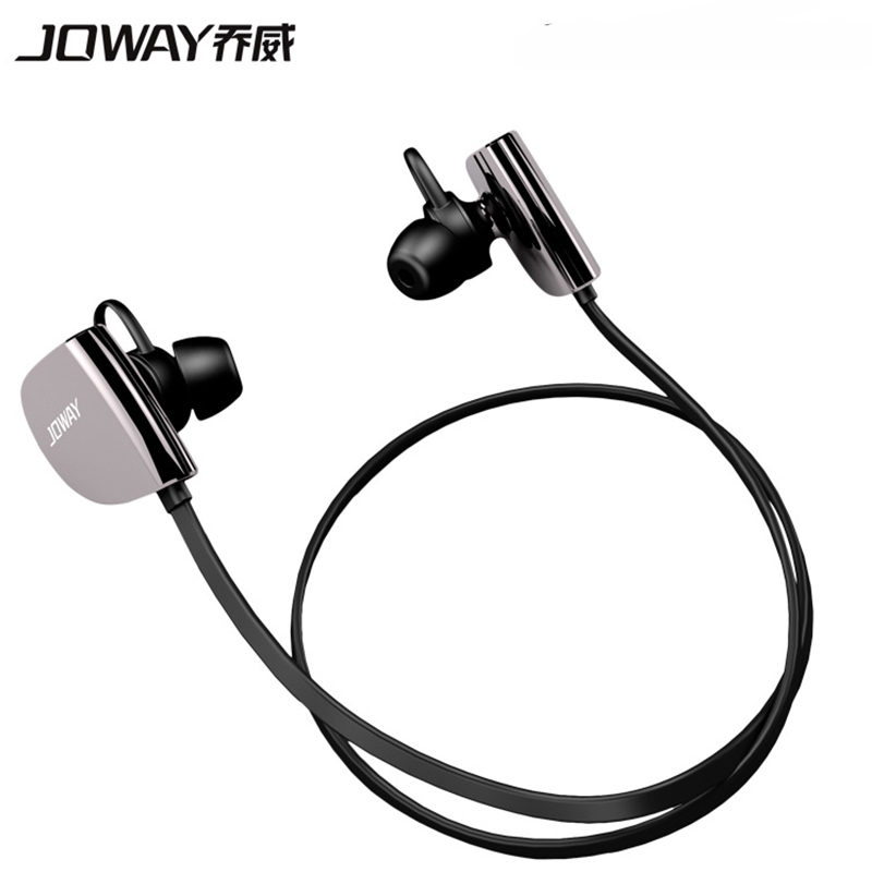 JOWAY H07 Stereo Bluetooth Earphones Sports Wireless Headphone Smart Noise Reduction Earphone with Microphone for Smart Phone 2016 white and black joway h 08 wireless noise cancelling voice control sports stereo bluetooth v4 0 earphones with microphone