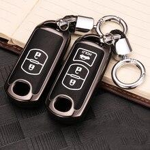 Zinc alloy Car Remote Key Case Cover For Mazda 2 3 6 Axela Atenza CX-3 CX-5 CX5 CX-7 CX-9 2014 2015 2016 2017 Smart 2/3 Buttons qcontrol 3 buttons smart key suit for mazda cx 3 cx 5 axela atenza model ske13e 01 car remote control