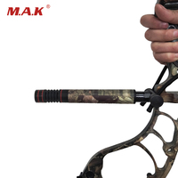 2 Color 7 11 Inches Adjustable Compound Bow Stabilizer with Aluminum Bow Accessory for Bow Archery Hunting Shooting