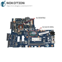 NOKOTION ZIUS6/S7 LA A321P MAIN BOARD For Lenovo S410 Laptop Motherboard I5 4200U CPU HD8570M 1GB Video card