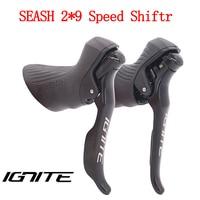 SENSAH Road Bike Shifter 2*8/2*9 Speed Lever Brake Road Biycle Derailleurs Groupset For Shimano