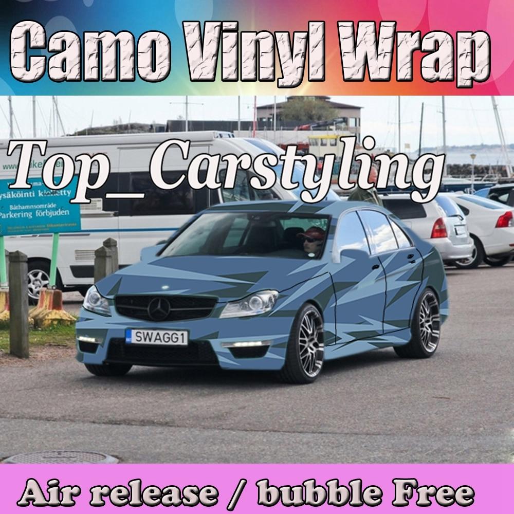 Camouflage Camo Vinyle Wrap Film Camouflage Vinyle Decal Sheet Bulle Livraison