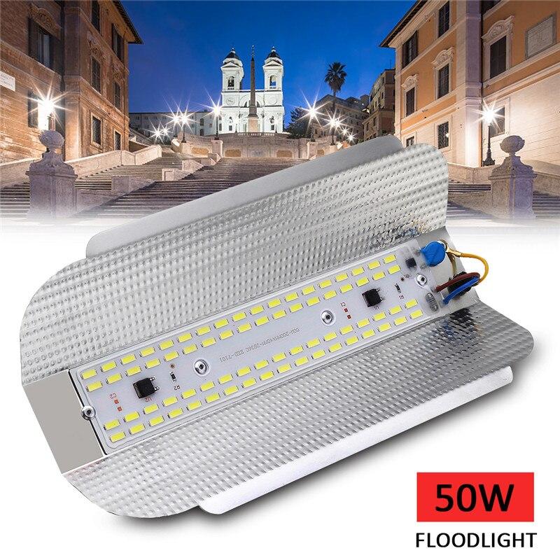 Versprechende LED 50 watt Flutlicht Im Freien Flutlicht 70led 7030smd Jod-wolfram Landschaft Lampe Weißes Licht Wasserdichte Lampe