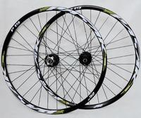 P01 MTB Mountain Bike Bicycle front 2 rear 4 sealed bearings hub wheel wheelset Rim free