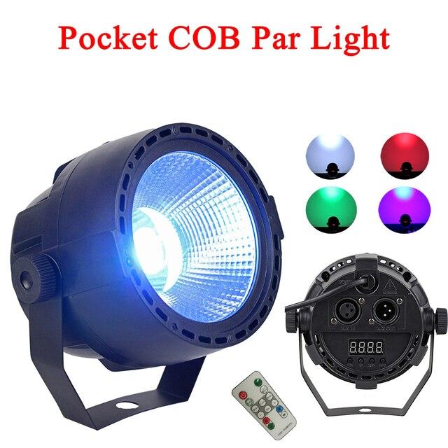 LED Par lights 30W Dj Laser Disco Ball Stage Light  Wash Effect Portable Stage Par Light Auto Sound Activation Indoor Disco Lamp