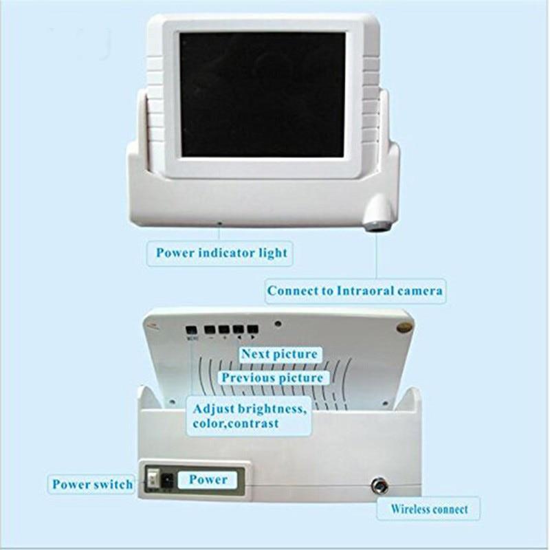 Monitor Camera In-Fewnol CMOS Newydd CMOS 8inch LCD â Cherdyn SD - Hylendid y geg