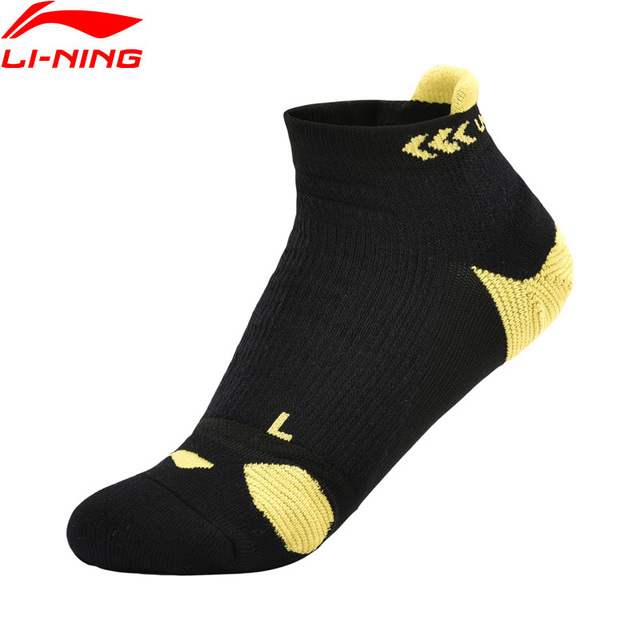 Li-Ning Unisex Running Series Socks AT DRY Breathable LiNing Comfort Sports Sock AWSN144 NWM397