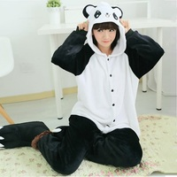 Cartoon Animal Stitch Cat Panda Cow Bear Pikachu Totoro Pajamas For Women Kigurumi Winter Adult Women