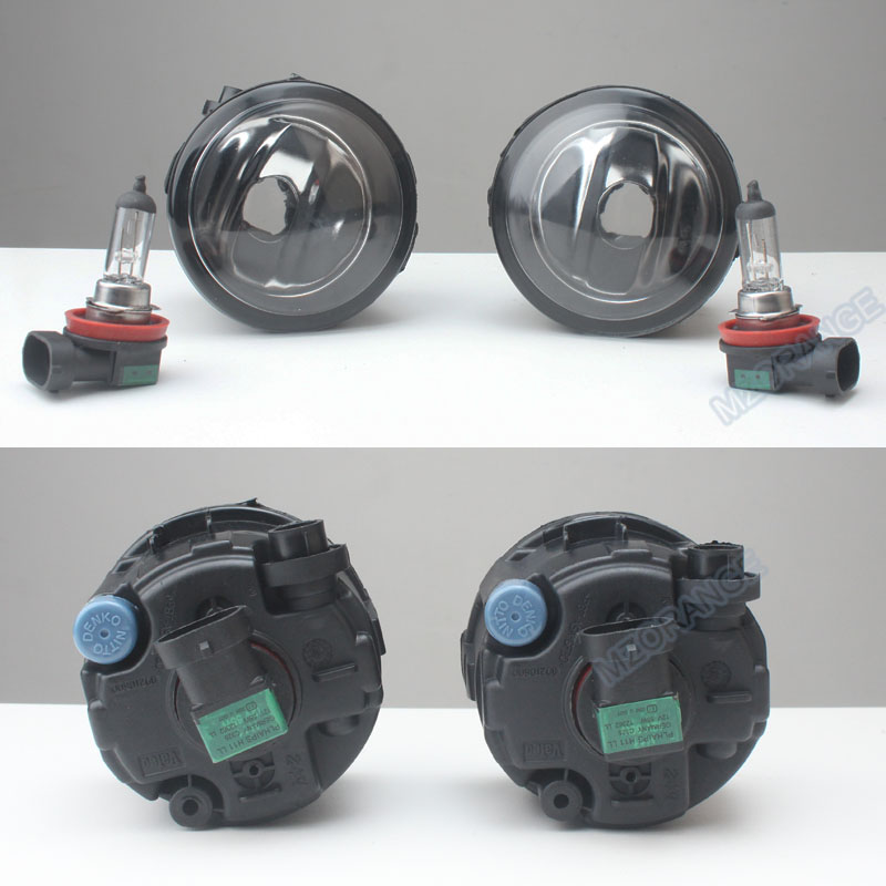Fog Lamp Assembly Super Bright Fog Light For NISSAN TIIDA SC11X CUBE Quest 2006-2012 Fog Lights 55W 2pcs 2pcs car styling right left fog light lamp w h11 halogen 12v 55w bulb assembly for nissan tiida hatchback c11x 2007 2011 2012
