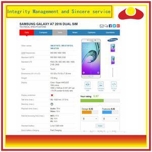 Image 4 - ORIGINAL pour Samsung Galaxy A7 2016 A710 A7100 A710F écran LCD avec écran tactile numériseur panneau moniteur assemblage complet