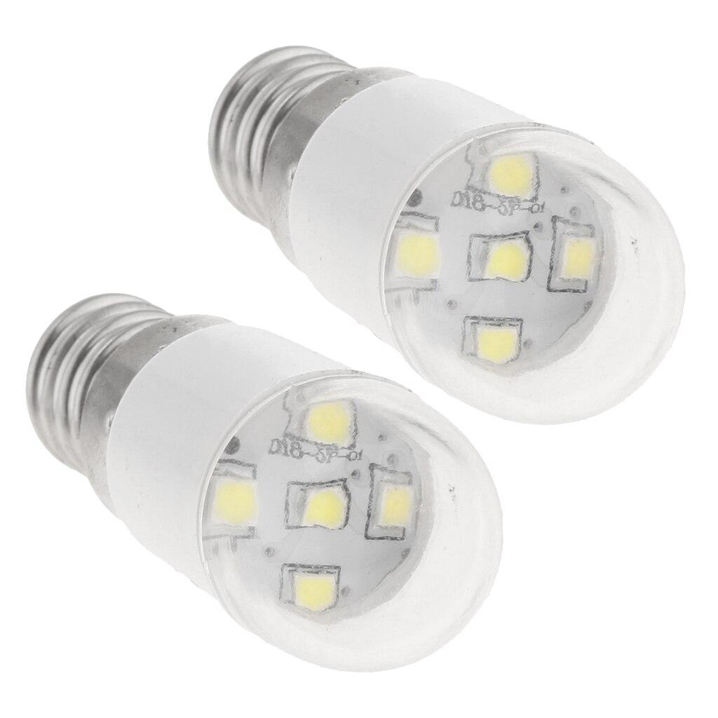 2 Stücke Universal Nähmaschine LED Glühbirne Nähmaschine Teile