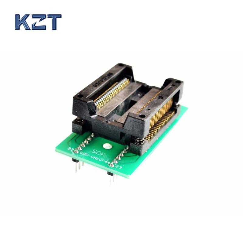 PSOP44 SOP44 SOP44(44) 1.27 programming socket SOP44 Test Socket OTS 44 1.27 04 Programmer Adapter for RT809H programmer       - title=