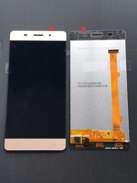 For Highscreen Power ICE Lcd screen Display black white Gold Touch Panel Digitizer Assembly repalcement parts RU + free tools