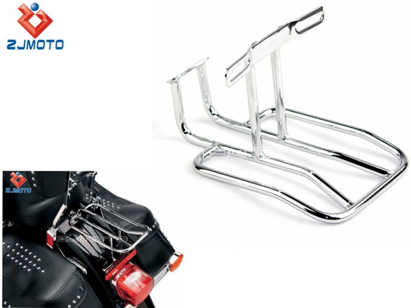 Motorcycle Rear Shelf Frame Rack Luggage Rack Support Shelf Solo ...