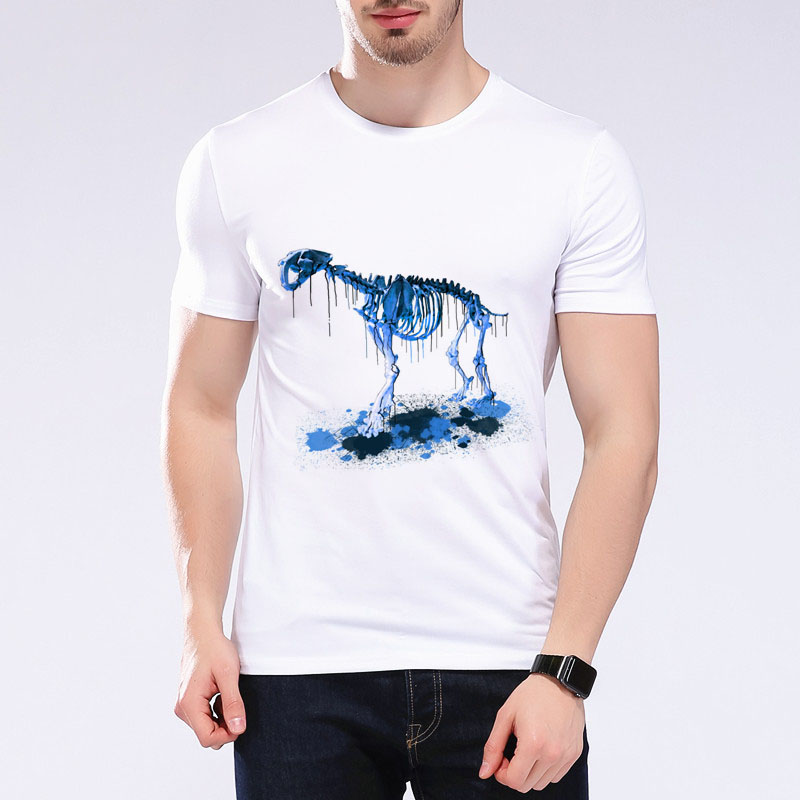 2017 new summer mens t shirts harajuku dinosaur design t for T shirt design 2017
