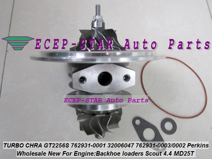 Turbo Cartridge CHRA GT2556S 762931 762931-5001S 762931-0001 Turbocharger For Perkin Backhoe loaders JBC Agricultural Scout 4.4L