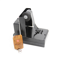 Remote Control Card Fountain Magic Tricks Metal Stage Magic Props Remote Control Spray Card Device