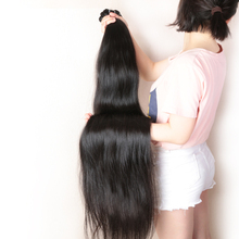 Virgin Brazilian Straight Hair Longer Length 30″ to 38″ 100% Human Hair Weave With Free Shipping