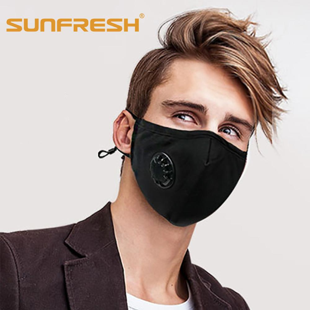 1pc PM2.5 Anti Dust Smog Mask N99 N95 With A Breathing Activated Carbon Filter Respirator Fashion Mask Antibacterial Mouth Mask