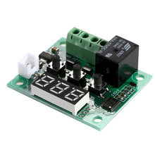 Digital Mini Thermostat W1209 DC 12V Temperature Controller Control Switch Sensor Module -50-110 Degrees Temperature Controller(China)