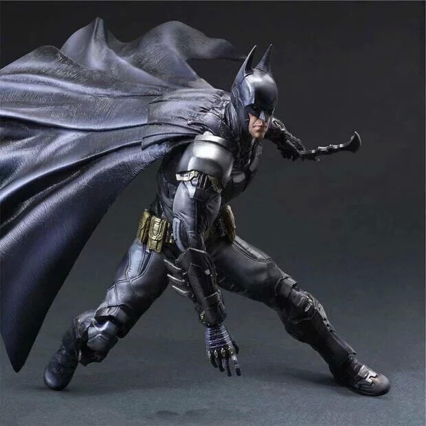 Huong Movie Figure 27 CM PLAY ARTS KAI Batman PVC Action Figure Collectible Model Toy Brinquedos Christmas Gift new hot christmas gift 21inch 52cm bearbrick be rbrick fashion toy pvc action figure collectible model toy decoration