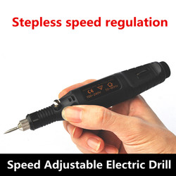 Dremel wysokiej jakości elektryczne wiertarka elektronicznych DIY projekt 100 V ~ 240 V 110 v 220 v 50 HZ darmowa wysyłka w Wiertarki elektryczne od Narzędzia na