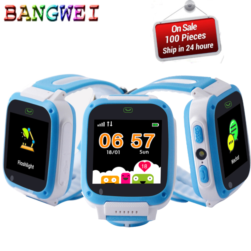 Children's Watches 2019 New Smart Watch Lbs Kid Smartwatches Baby Watch For Children Sos Call Location Finder Locator Tracker Anti Lost Monitor+box Good Taste