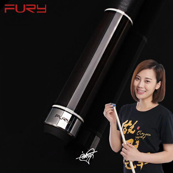 FURY CHY 1/2 Pool Cue Stick With Case North American Maple Billiard Cue Kit For Champion 11.75mm 13mm Tip 147 cm Pool Stick Kit