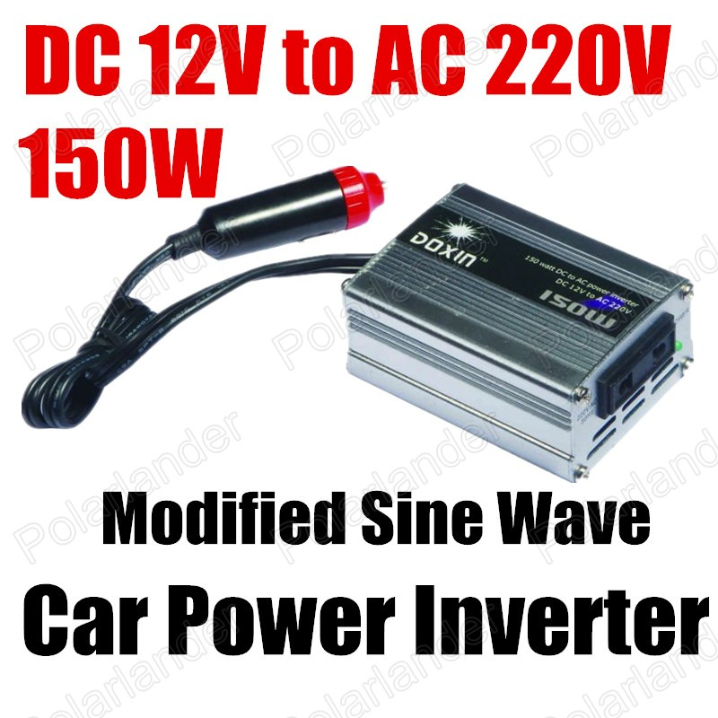Free shipping 150W Power Inverter DC 12V to AC 220V modified sine wave car Power converter