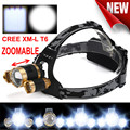 High Quality 15000 Lumens CREECHIPS  LED Headlamp Torch Cree 3x XM-L T6 Headlamp Head Light Lamp