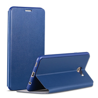 X Level PU Leather Case For Samsung Galaxy C7 Pro Business Style Flip Phone Case For