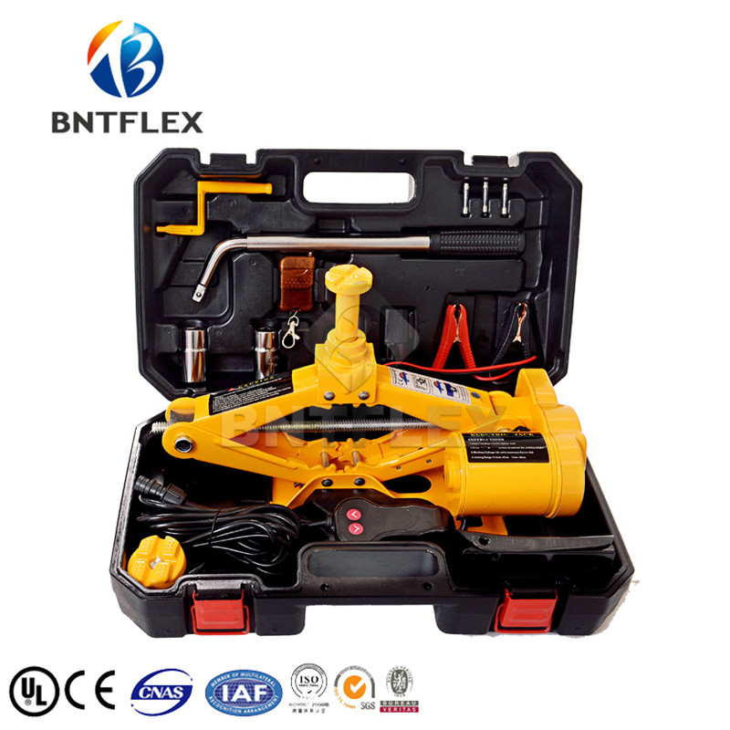 12V 2 T Car Electric Jacks Tire Replacing Tool Hydraulic Floor Jack Set Impact Wrench Tool  Auto Lifting Repair Tools|Hydraulic Tools| |  - title=